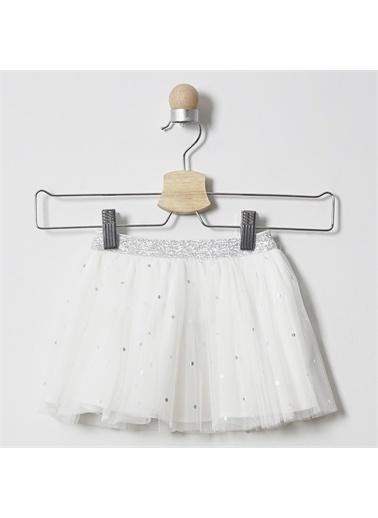 Panço Kız Bebek Tütü Etek 2011GB13012 Beyaz